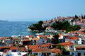 Skiathos view Stock Photos