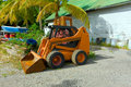 Skid loader a in a building material depot Stock Photography