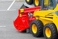 Skid steer attachment Stock Image