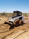 Skid Steer Loader - Vertical Royalty Free Stock Photography