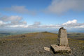 Skiddaw Summit Royalty Free Stock Photo