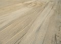 Skidmarks in the ground abstract background showing some brown earth Stock Photos