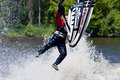 Skier in Action Stock Photos