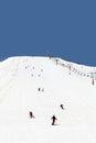 Skiing in Lebanon Stock Photography