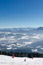 Skiing park Kubinska Hola, Travel destination for winter vacations.
