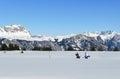 Skiing Resort Royalty Free Stock Photos
