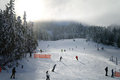 Skiing at Whistler Royalty Free Stock Photo