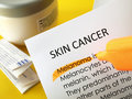 Skin cancer treatments Royalty Free Stock Photo