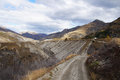 Skippers Canyon Road , Queenstown, New Zealand Royalty Free Stock Photo