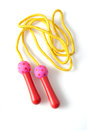 Skipping rope Royalty Free Stock Photo