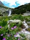 Skok waterfall, High Tatras mountains, Slovakia