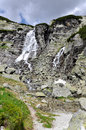Skok waterfall, High Tatras in Slovakia