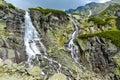 Skok waterfall, High Tatras in Slovakia