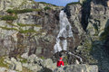 Skok Waterfall in High Tatras