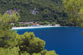 Skopelos island in greece panormos beach at Stock Images