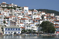 Skopelos Town Stock Photography