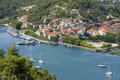 Skradin - small city on Adriatic coast Stock Images