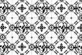 Skull argyle pattern repeating fleur de lys Royalty Free Stock Photo