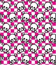 Skull Background Stock Photos