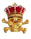 Crâne or