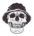 Skull in Hat