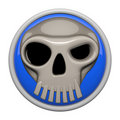 Skull Icon Royalty Free Stock Photo