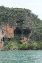 Skull island Obrazy Royalty Free