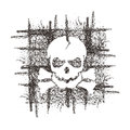 Skull. Vector format Royalty Free Stock Photo