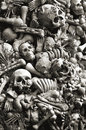 Skulls and bones for halloween Royalty Free Stock Photo