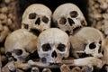 Skulls kutna hora Stock Photo