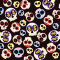 Skulls pattern Stock Photos