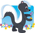 Skunk Royalty Free Stock Photography