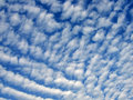 Sky with altocumulus clouds Stock Photos