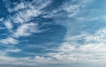 Sky background beautiful blue and clouds Royalty Free Stock Image