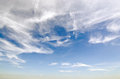 Sky background with cloudy scene summer day sky for graphic us white cloud blue on a shiny Royalty Free Stock Photography