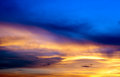 Sky background on sunrise. Royalty Free Stock Photography