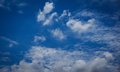 Sky blue background in nature Stock Image