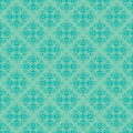 Sky blue colors asian damask pattern korean traditional design series Royalty Free Stock Photo