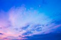 Sky, Bright Blue, Pink And Purple Colors Sunset Royalty Free Stock Photo