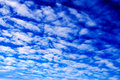 Sky and clouds blue with for background stripes Stock Photo