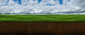 Sky, Clouds, Grass, Ground, Underground Royalty Free Stock Photo