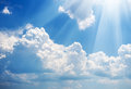 Sky daylight natural composition element of design Stock Photo