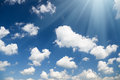 Sky daylight natural composition element of design Stock Photography