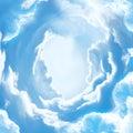 The sky door to heaven Royalty Free Stock Photo