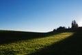Sun Rays Lighting Hill