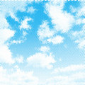 Sky illustration background Stock Photo