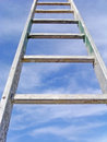 Sky ladder Stock Image