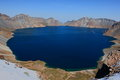 The Sky Lake at Changbai Royalty Free Stock Photo