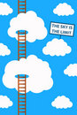 Sky is the limit Royalty Free Stock Photo