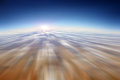 Sky motion blur abstract background